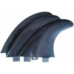 Thruster Carbon Fiber Fibreglass Fin Set - AM1
