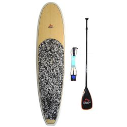 E-Force 10'6 Premium Bamboo Deck Paddleboard