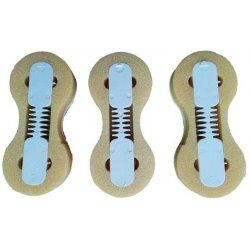 Fusion Fin Plug Set with 6 fin screws
