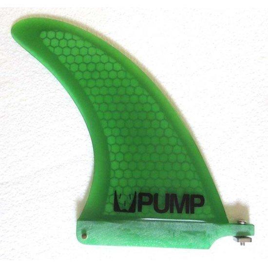 Pump Hex Core Fibreglass Longboard Fin-Green