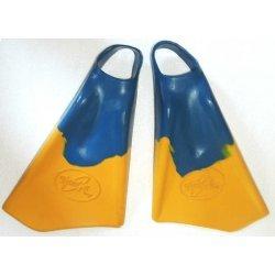 Swimfins - Tanga Surf-Blue/Yellow (ฟินสำหรับเล่นบอดี้บอร์ด)