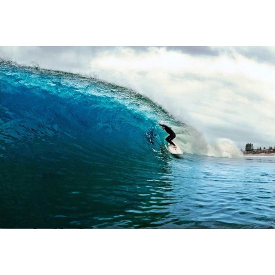 Hot Buttered Funboard Blue Yellow - 7'2