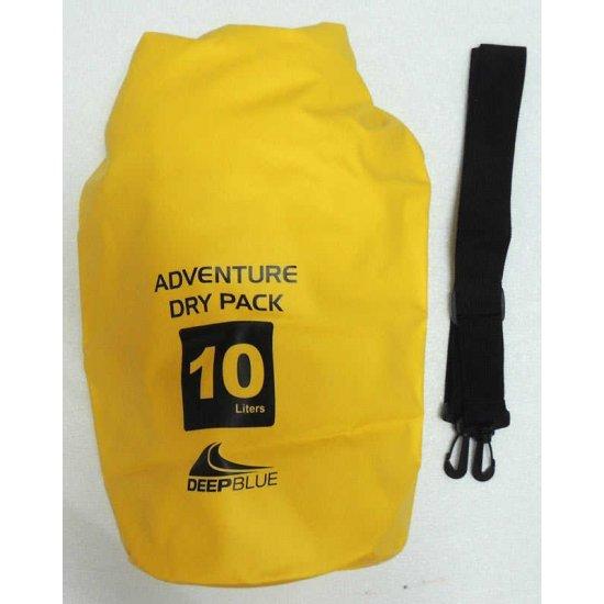 Deep Blue Adventure Dry Pack 10L (กระเป๋ากันน้ำ ขนาด 10 ลิตร)