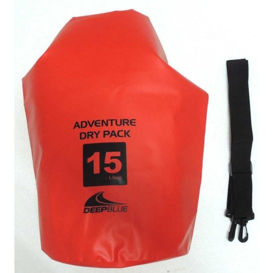 Deep Blue Adventure Dry Pack 15L (กระเป๋ากันน้ำ ขนาด 15 ลิตร)