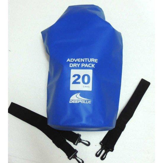 Deep Blue Adventure Dry Pack 20L (กระเป๋ากันน้ำ ขนาด 20 ลิตร)