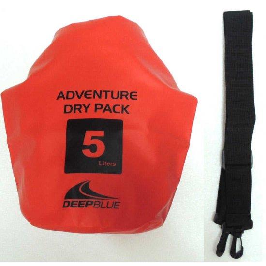 Deep Blue Adventure Dry Pack 5L (กระเป๋ากันน้ำ ขนาด 5 ลิตร)