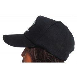 Saltwater Dreaming Cap-Black
