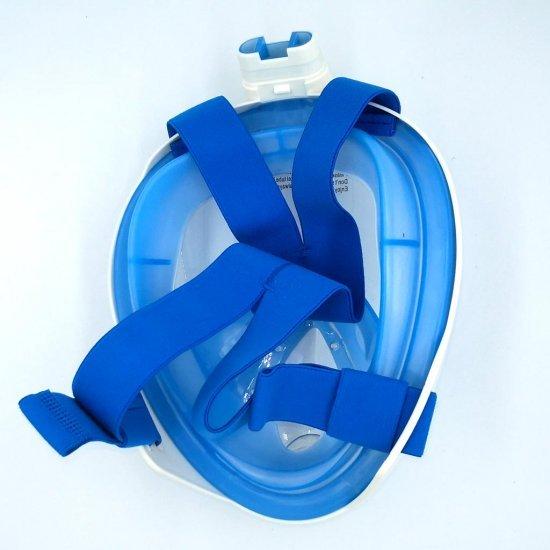 Deep Blue Full Face Snorkeling Mask (ชุดหน้ากากดำน้ำ)