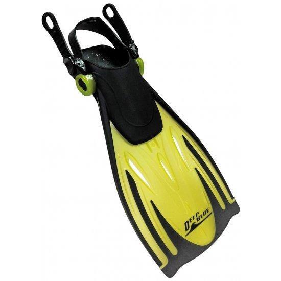 Deep Blue Junior Snorkeling Fins - Yellow (ฟิน(ตีนเป็ด)ว่ายน้ำ)