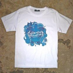 Saltwater Dreaming T-Shirt-Sealife-White