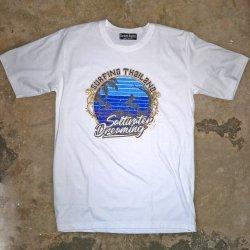 Saltwater Dreaming T-Shirt-Surfing Thailand -White