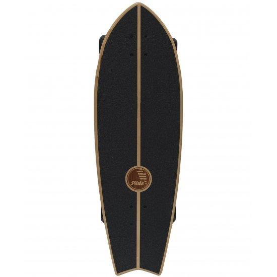 "Slide SurfSkate Board - 32"" Fish Marrajo Complete"