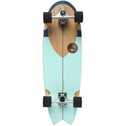 "Slide SurfSkate Board - 33"" Swallow Noserider Complete"
