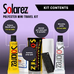 Solarez Polyester Mini Travel Repair Kit