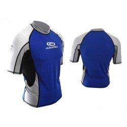 Aropec Lycra Rash Guard-Short Sleeve-BLUE