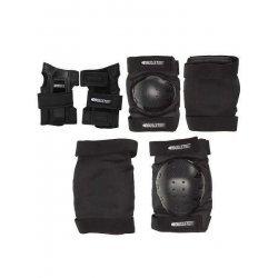 Bullet Adult Safety Set (knee/elbow/wrist) อุปกรณ์ป้องกัน สเก็ตบอร์ด