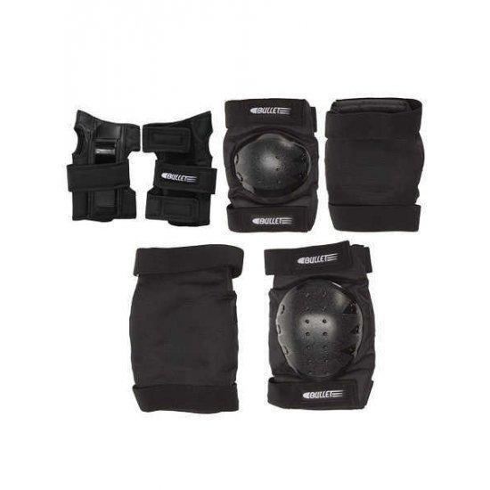 Bullet Junior Safety Set (knee/elbow/wrist) อุปกรณ์ป้องกัน สเก็ตบอร์ด