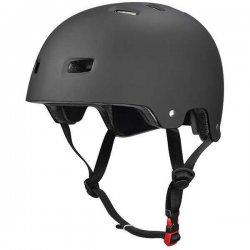 Bullet Deluxe Skateboard Helmet - Matte Black (หมวกกันน็อค Sport)
