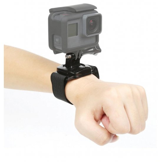 Action Camera Wrist Strap Mount 360 Rotation