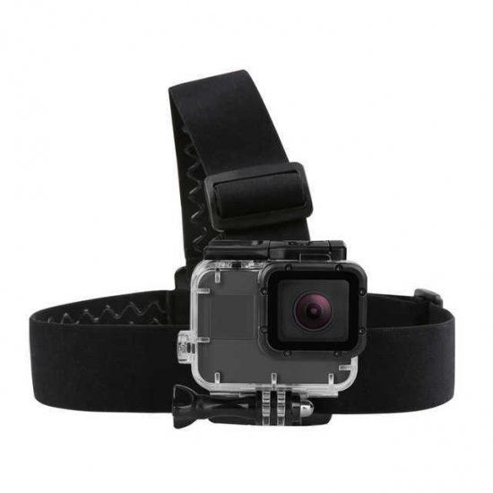 Action Camera Head Strap Mount