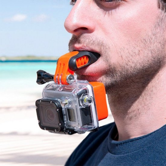 Action Camera Mouth Mount