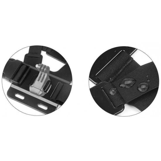 Action Camera Chest Strap Mount