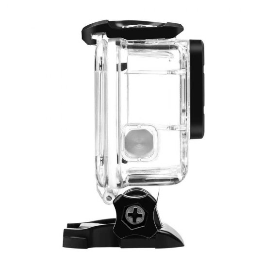 Action Camera Replacement Housing 40M Waterproof for GoPro Hero 5/6 Action Cameras