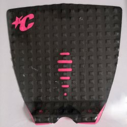 Creatures of Leisure -Mick Fanning LITE Traction Pad- Black Mix Pink