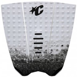 Creatures of Leisure -Mick Fanning LITE Traction Pad- White Fade Black