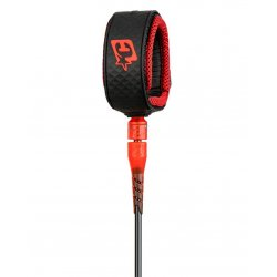 Creatures of Leisure -7'0 Reliance Pro Leash-Black/Red