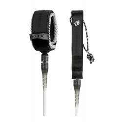 Creatures of Leisure -8'0 Reliance Pro Leash-Clear/Black