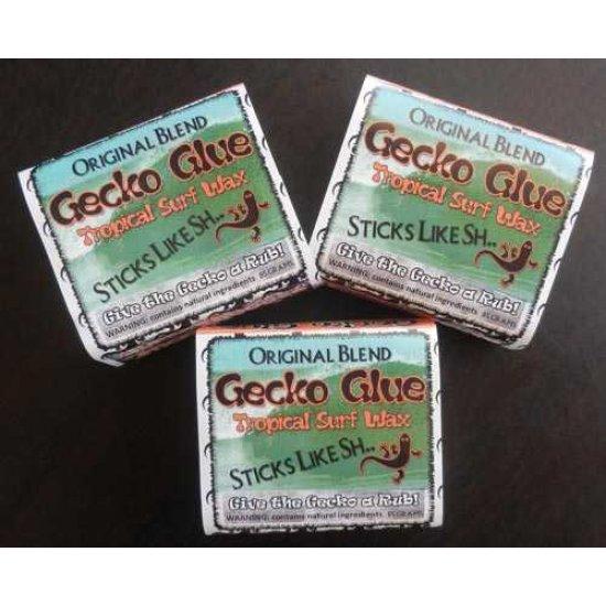 Gecko Glue Surf Wax-Tropical