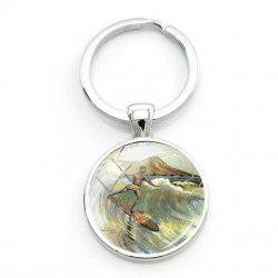 Surfers Key Ring-Old Style
