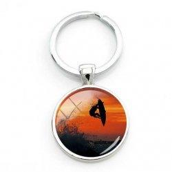 Surfers Key Ring-Sunset Reo