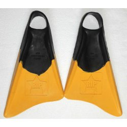 Swimfins - Rip-Black/Yellow (ฟินสำหรับเล่นบอดี้บอร์ด)