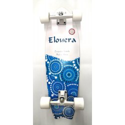 """Elouera SurfSkate Board - 29""""  Day Surfer Fish Complete"""