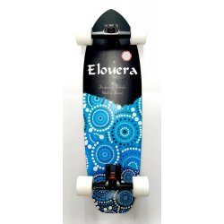 "Elouera SurfSkate Board - 31""  Night Surfer Complete"