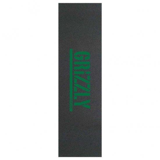 Grizzly Stamp Grip Tape Green (แผ่นกริ๊ปเทปหรือกระดาษทราย)