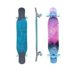 """Koston Zodiac Dancing Longboard 46"""" Aqua/Pink"""