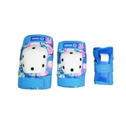 Koston Adult Skateboard Pads -Blue (อุปกรณ์ป้องกัน สเก็ตบอร์ด)