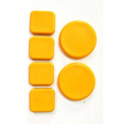 Longboard Replacement Slide Pucks (Set of 6)