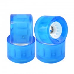 Longboard Wheels LED Flash 70mm x 51mm 82a