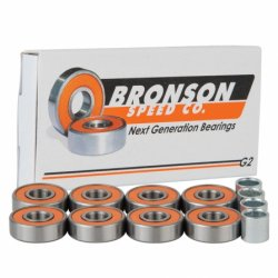 Bronson G2 Skateboard Bearings (ลูกปืนล้อสเก็ตบอร์ด)