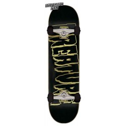 Creature Logo Outline Full Skateboard Complete 8.25 x 31.5 in