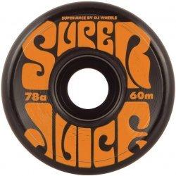 OJ Wheels Super Juice Black Skateboard Wheels - 60mm 78a