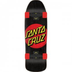 Santa Cruz Classic Dot 80s Cruiser Skateboard 9.35in x 31.7in