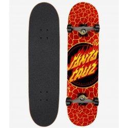 Santa Cruz Flame Dot Full Skateboard Complete 8.00in x 31.25in