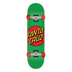 Santa Cruz Classic Dot Full Skateboard Complete 7.8in x 31in