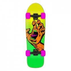Santa Cruz Missing Hand Shaped Cruiser Skateboard 9.7 x 31.7