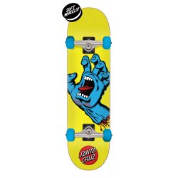 Santa Cruz Screaming Hand Mini Santa Cruz Skateboard Complete 7.75in x 30in
